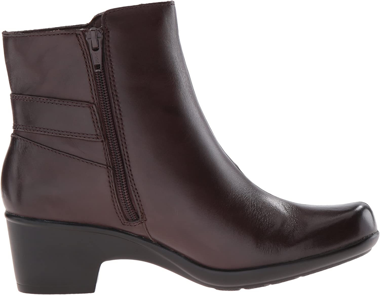 Clarks Malia Mccall, Chaussure - Cheval Femme Dark Brown Leather