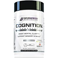 COGNITION High Potency Brain Nootropic Focus Supplement: Best Nootropic and Energy Pills for Mental Clarity, Memory, Studying, Gaming, and Work | Alpha GPC, Dynamine, Caffeine, L Theanine, 60 Count