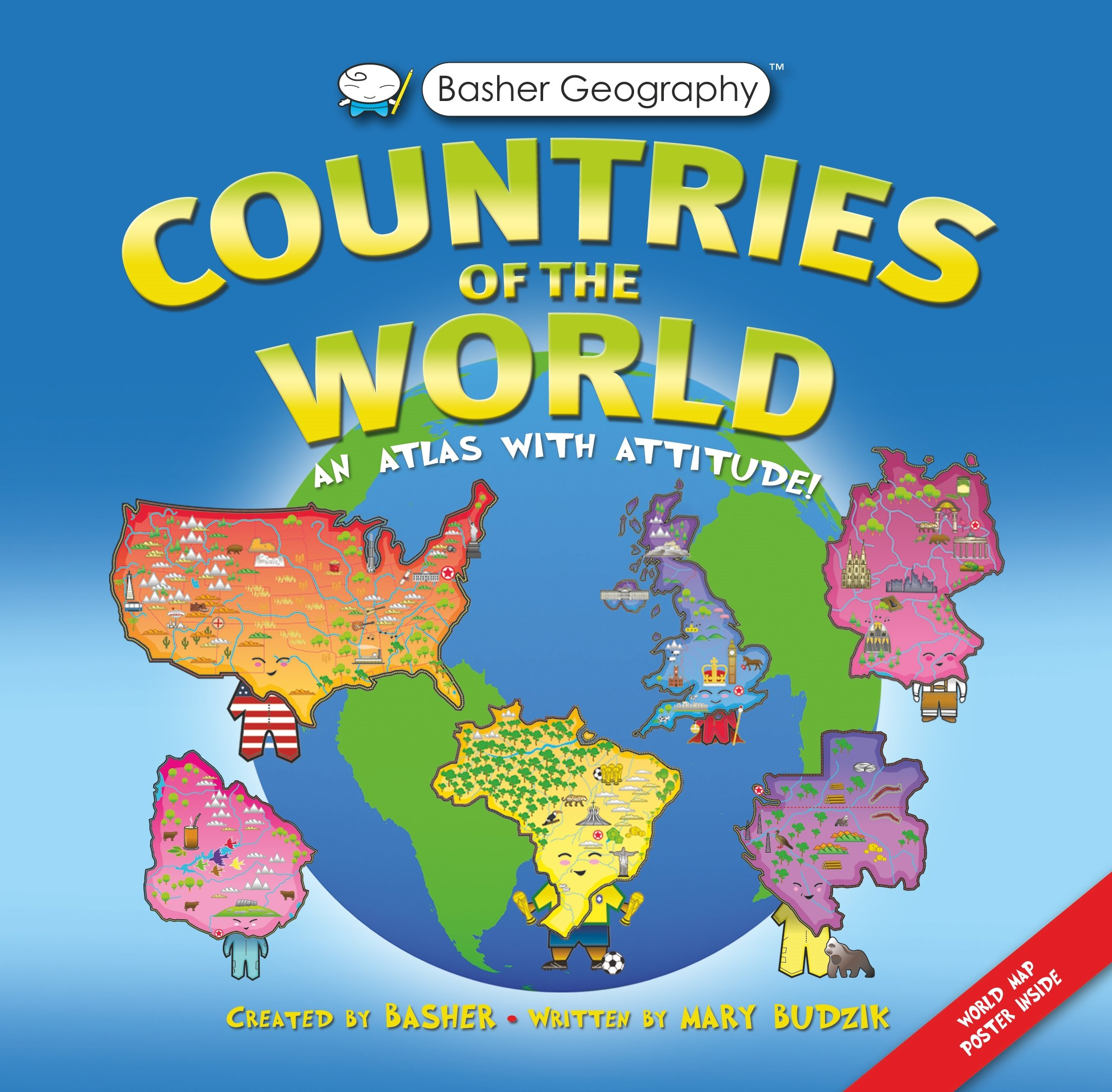 amazon countries of the world an atlas with attitude basher