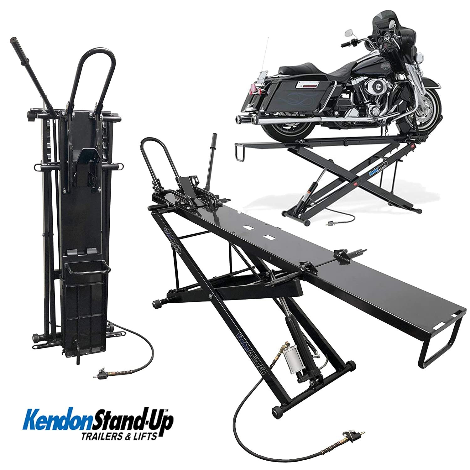 Kendon Folding Stand-Up ATV Motorcycle Table Lift For Harley