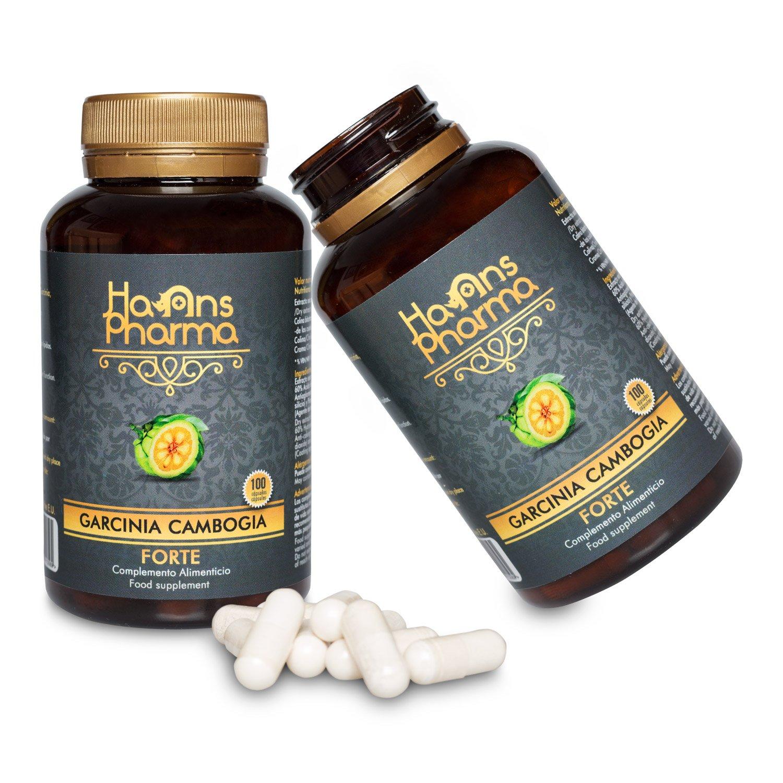 Garcinia Cambogia Forte 1250 mg con Cromo y Colina, Doble Acción, 100 Cápsulas