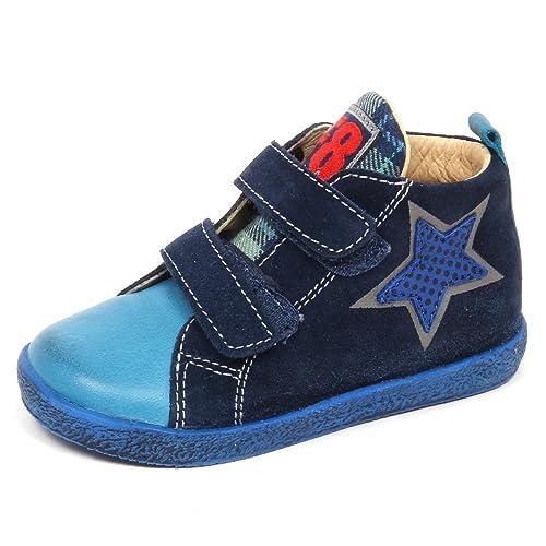 Falcotto E3220 Sneaker Bimbo Blu by Naturino Scarpe Primi Passi Shoe Baby  Boy  18  dd04f0ea9c6