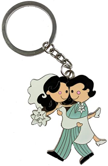 09c7eb325f Kissing Couple Valentine Couple Keychain Keyring, Valentine Love Metal  Keychain, Gift for Boyfriend And Gift For Girlfriend: Love: Amazon.in:  Bags, ...