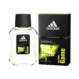 Adidas Pure Game Eau de Toilette for Men, 100ml