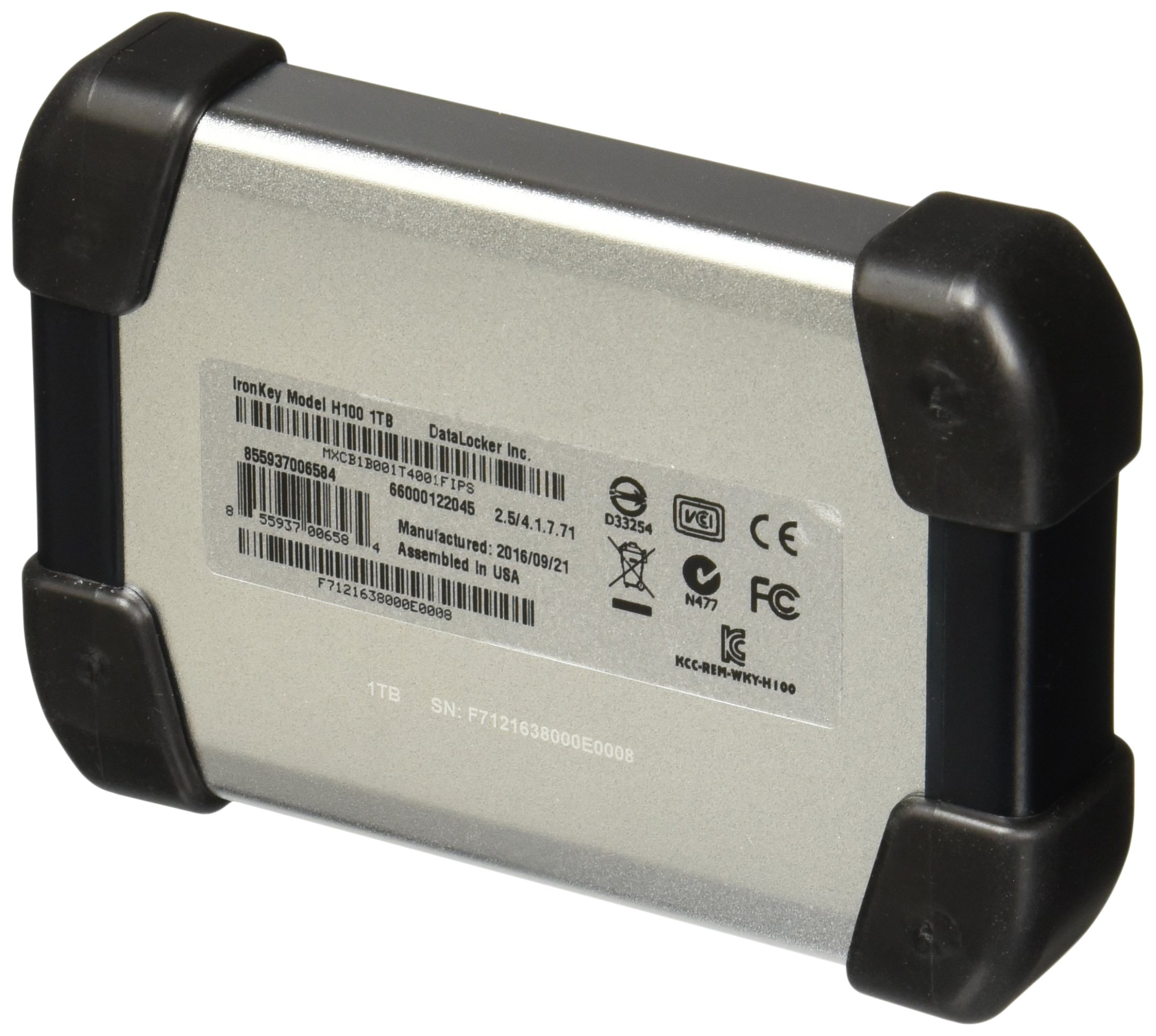 IronKey Defender H100 2.5 EHDD 1.0TB (MXCB1B001T4001FIPS) by IronKey (Image #2)