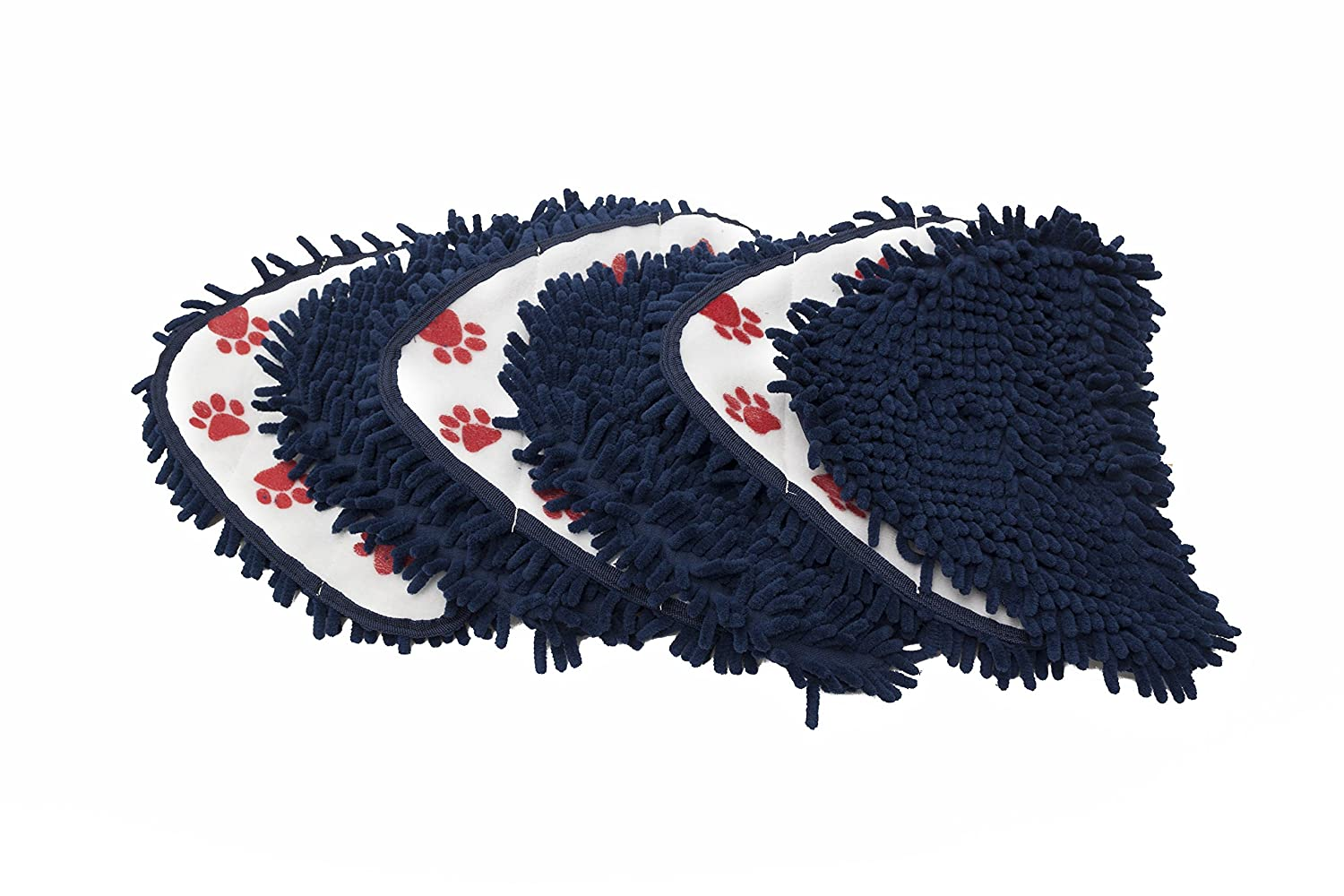 Ningbo Haishu HuaxinYicheng Trade Co LTWHOME Washable Coral Pet Steam Cleaning Pads Fit for Vax S2 Series and Hoover WH20200 Steam Mop Pack of 6 Ltd.