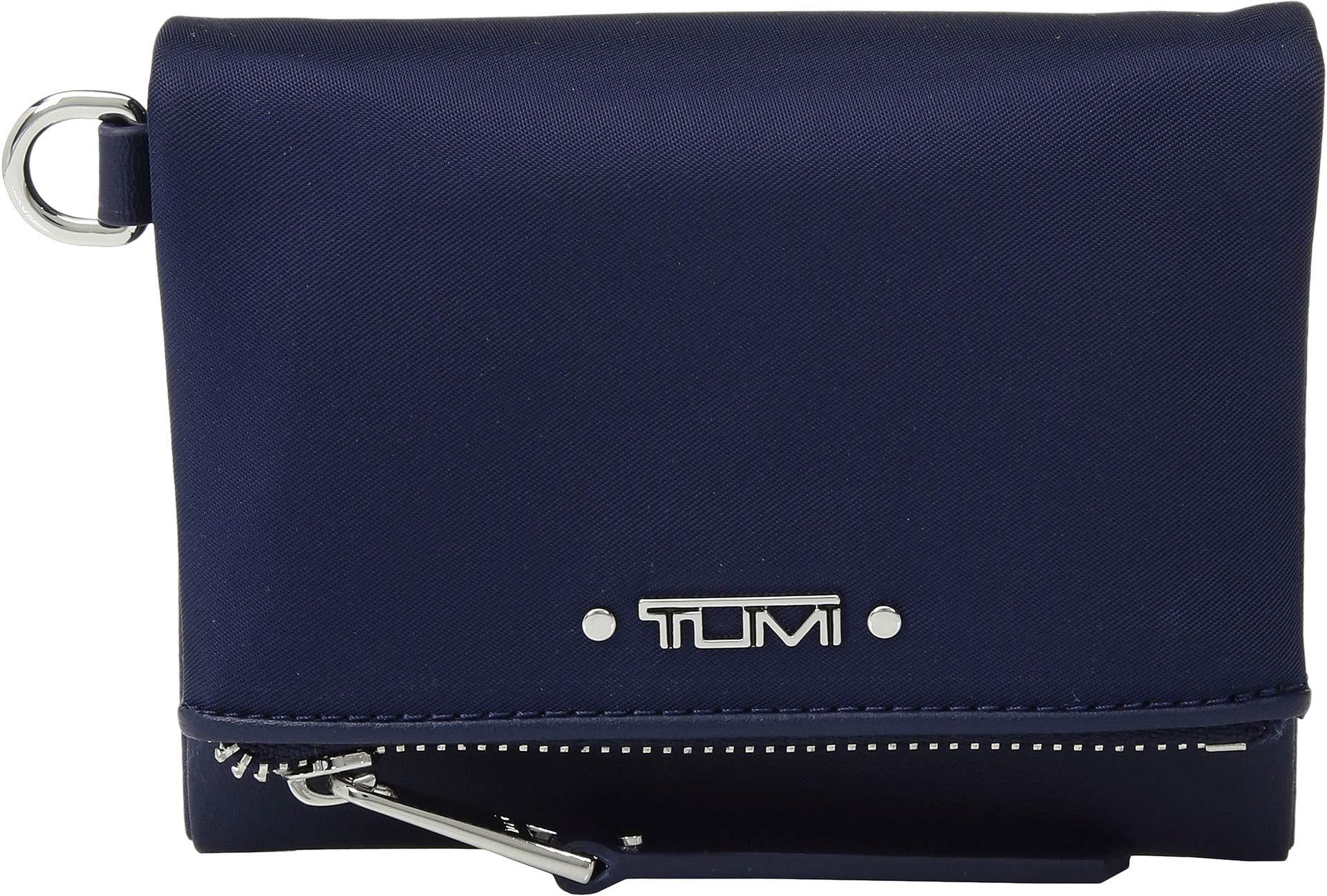 TUMI - Voyageur Flap Card Holder Case - Compact Wallet for Women - Ultramarine