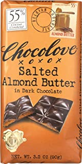 product image for Chocolove, Chocolate Bar Dark Almond butter, 3.2 oz