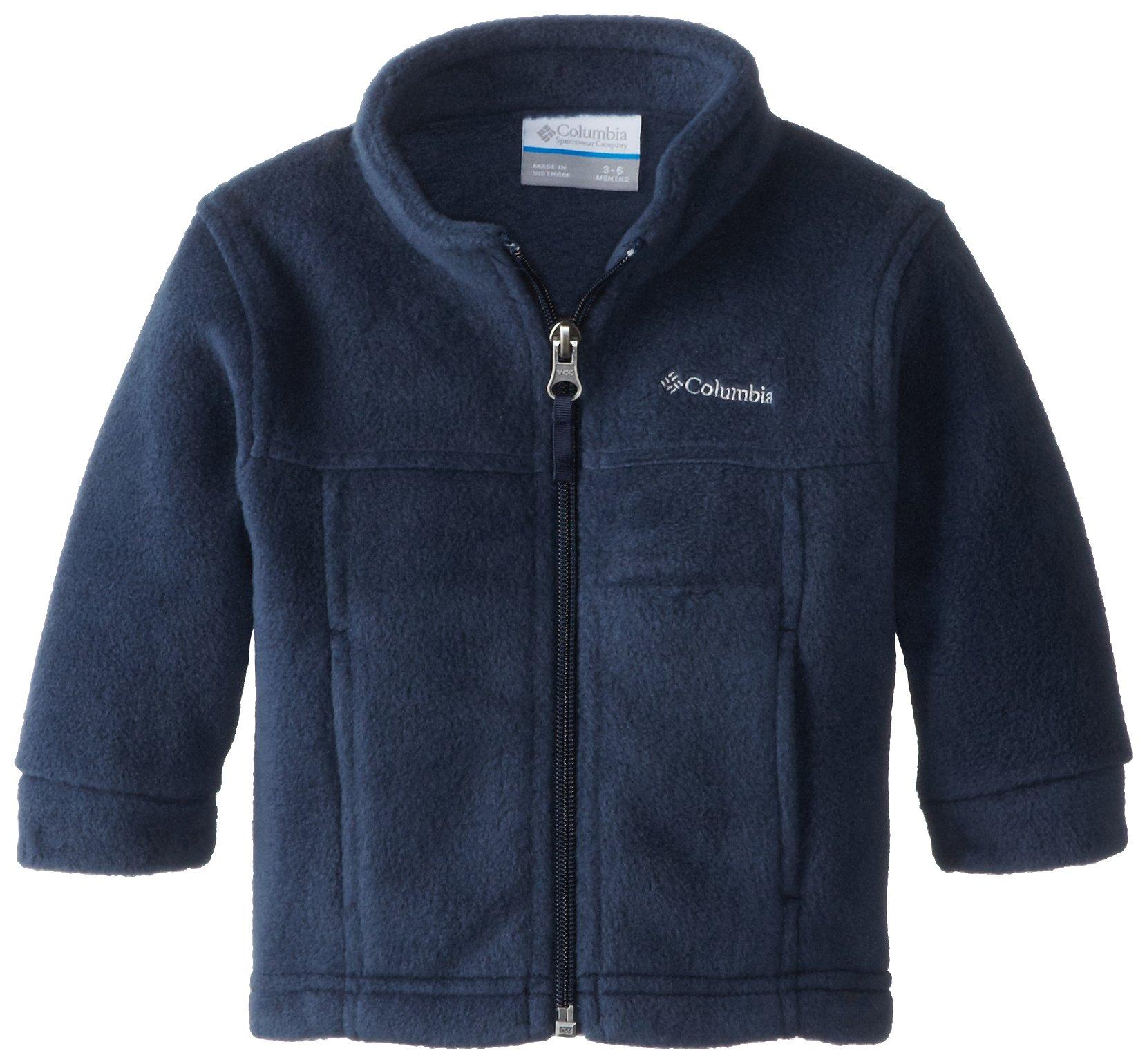 Columbia Baby Boys' Steens Mt II Fleece Jacket, Collegiate Navy, 18-24 Months
