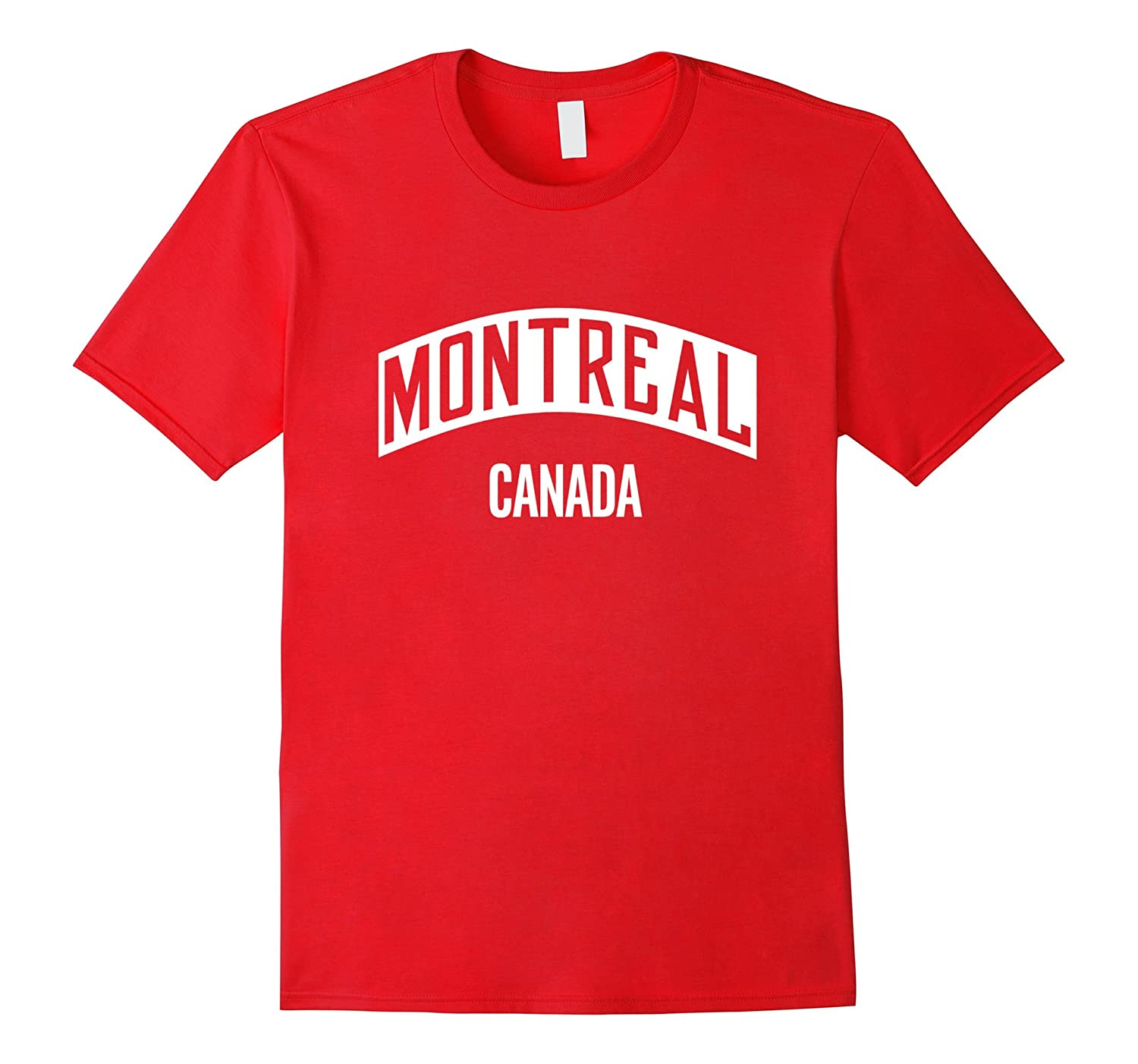 Montreal Canada City Pride Design T-Shirt-Art
