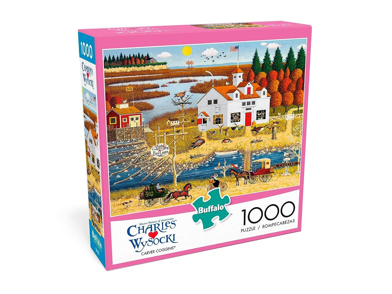 1000 Piece Jigsaw Puzzle Charles Wysocki Carver Coggins