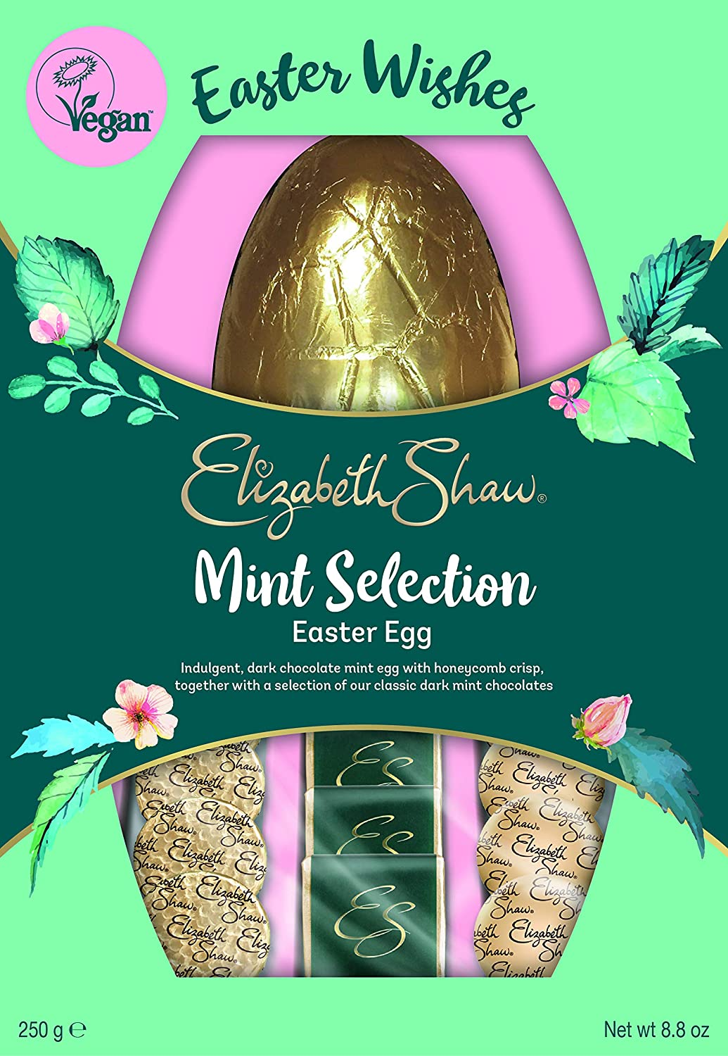 Elizabeth Shaw Mint Selection Easter Egg, 250g