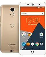 Wileyfox Swift 2 Plus - smartphone con display HD da 5 pollici  32GB memoria interna e 3GB RAM (Dual Sim 4G) SIM-Free Smartphone Android Nougat 7.1.1 - Oro con custodia e schermo di ricambio