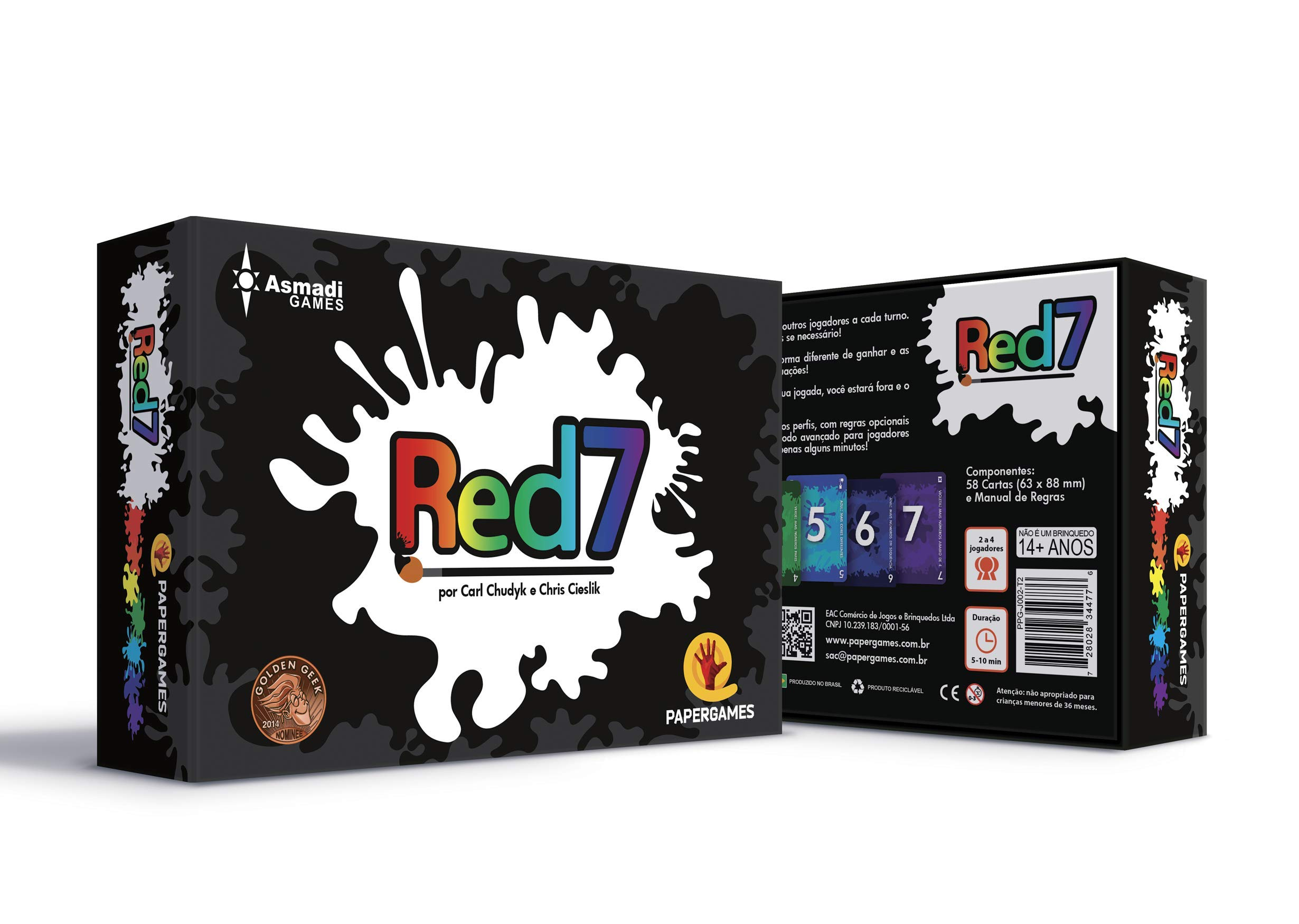 Red7 Card Game by Asmadi Games (Image #3)
