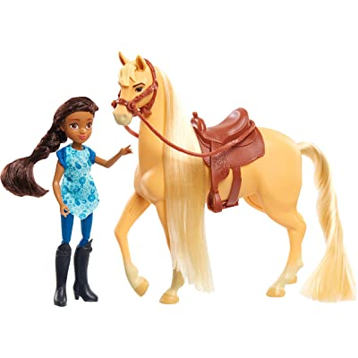 Spirit Riding Free Small Doll & Horse Set - PRU & Chica Linda: Toys & Games