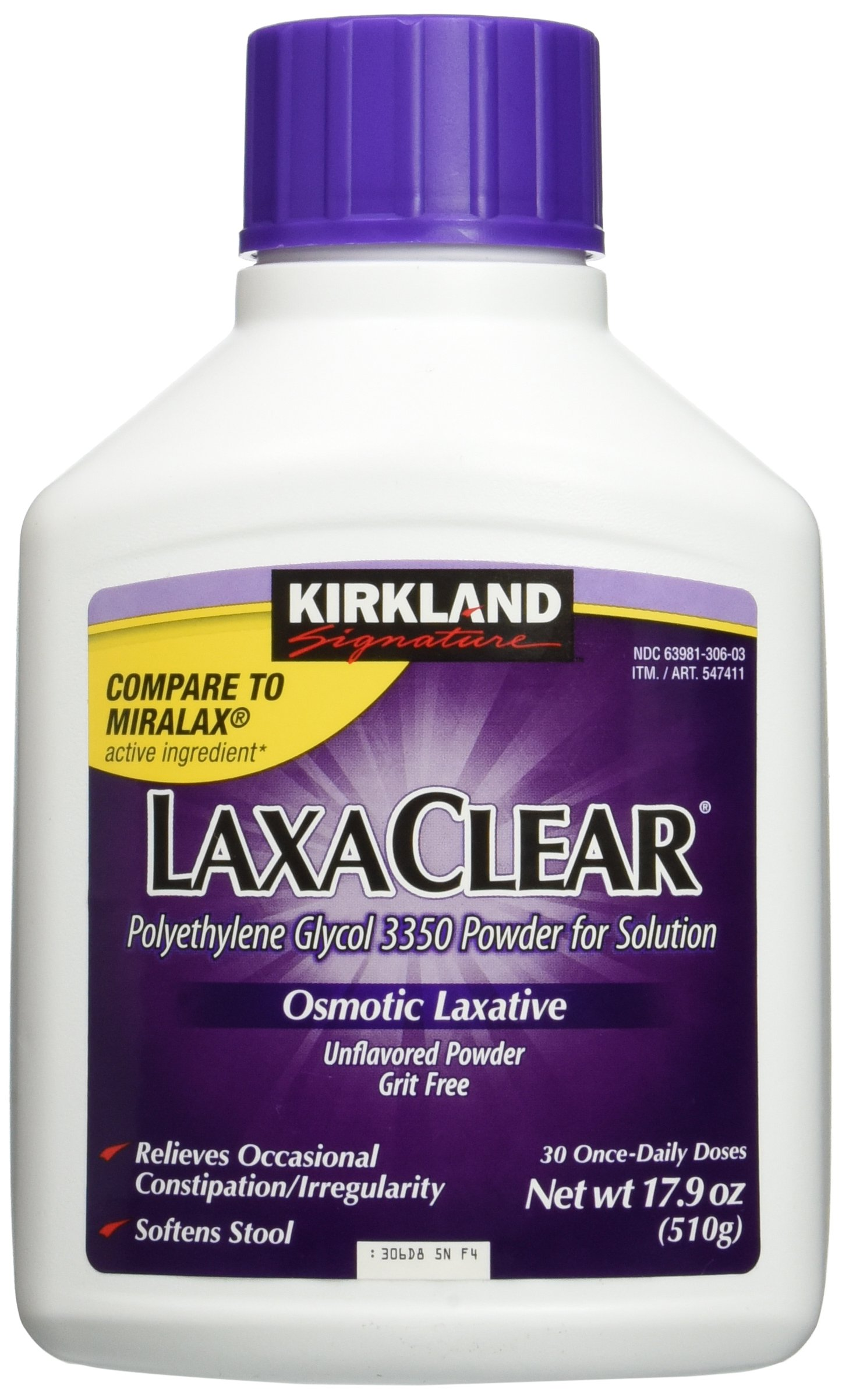 Amazon Com Kirkland Laxaclear 90 Total Daily Doses