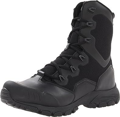 Magnum Men's Mach 1 8.0 Side Zip Boots,Black ...