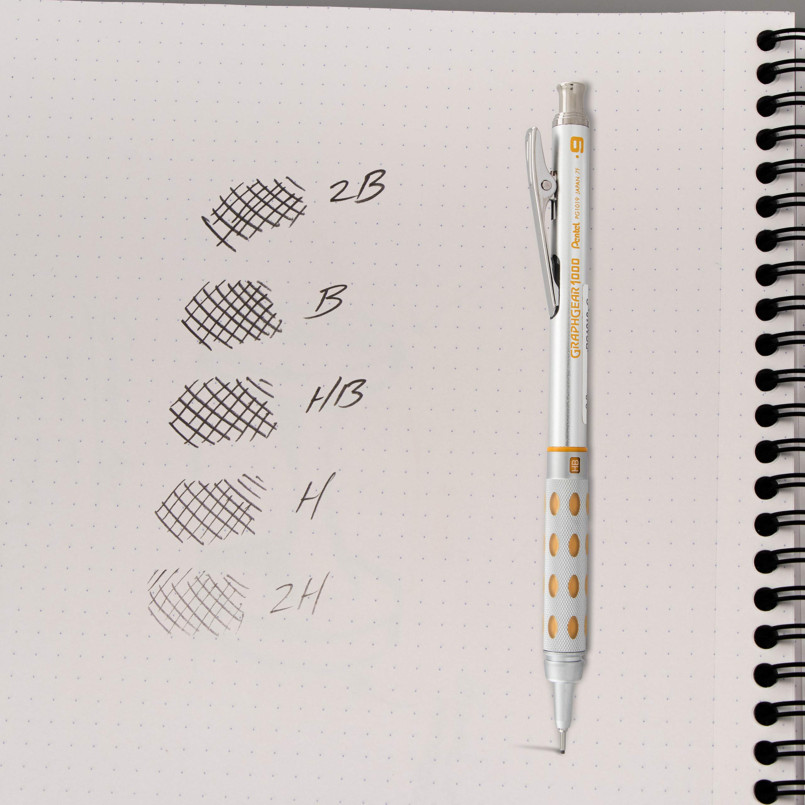 Pentel Super Hi-Polymer Lead Refill , 0.9 mm Thick, HB, 60 Pieces of Lead (C29BPHB2) by Pentel (Image #5)