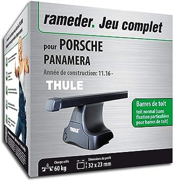 Rameder Pack barras de techo squarebar para Porsche Panamera (140849 – 37074 – 1-