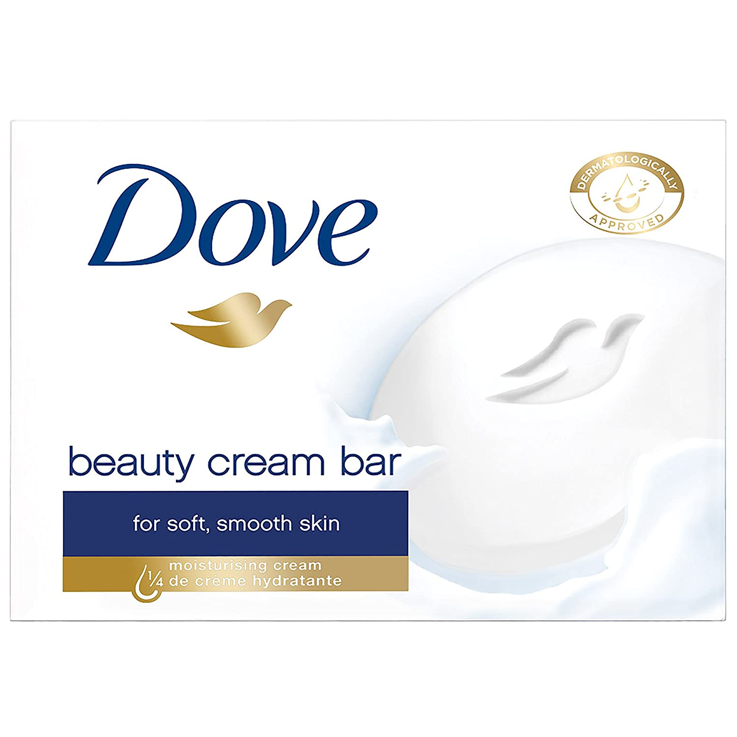 Dove Original Beauty Cream Bar 4 x 100 g - Pack of 6 (24 Bars) Unilever 586735