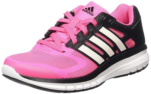 adidas AW15 Womens Duramo Elite Running Shoes - Neutral Cushion - US 5 - Pink