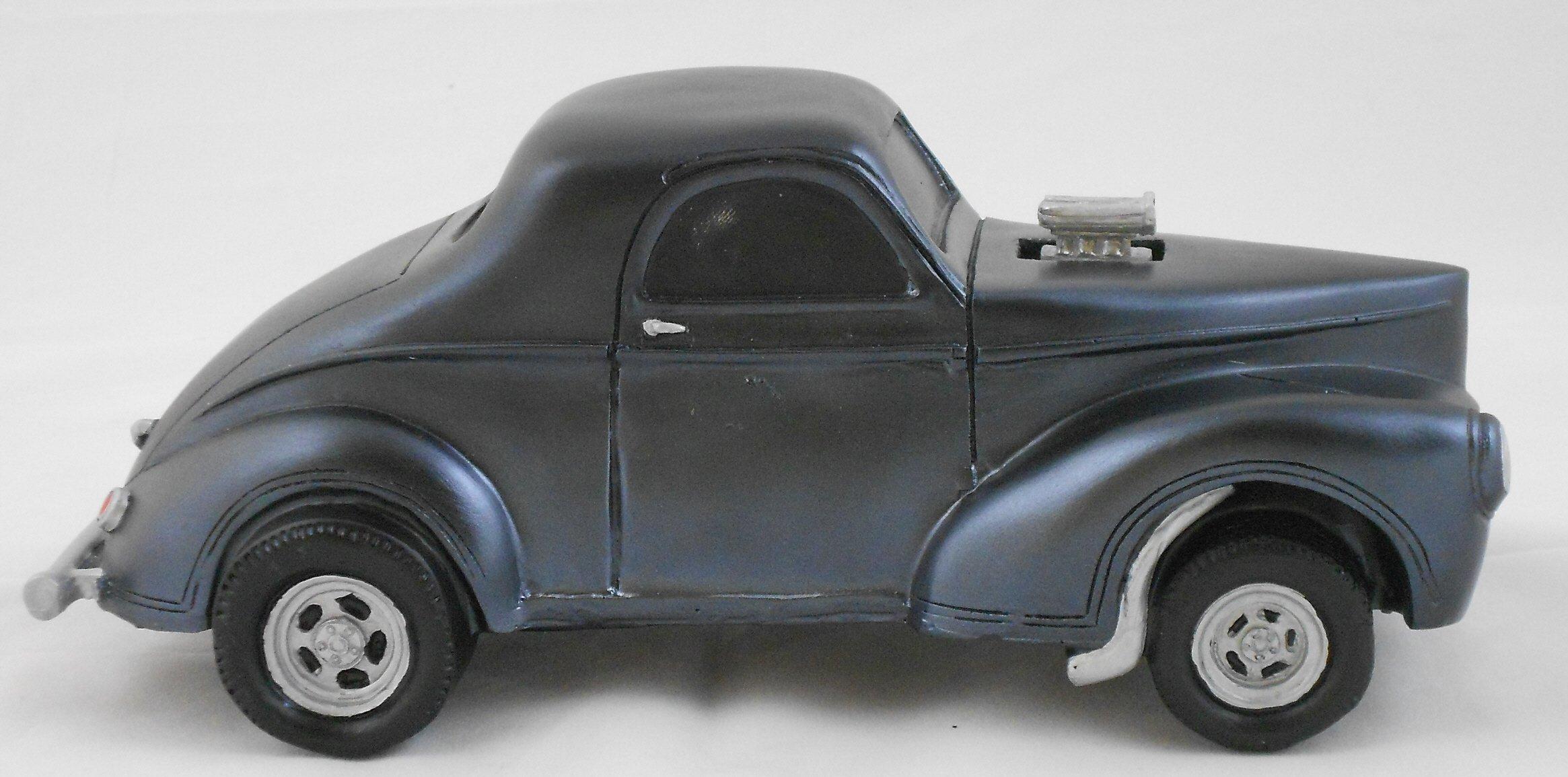Gasser Model 1941 Willys 1:18 Scale Black by Gasser Models (Image #4)