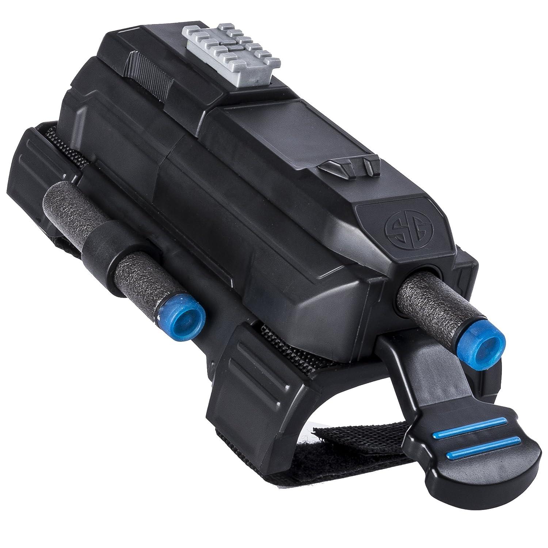 Juegos de rol , Ni/ño, Negro, Azul, Gris, De pl/ástico s Spy Gear Ninja Wrist Blaster Espionaje Juguete Individual Espionaje, Juguete Individual, 6 a/ño