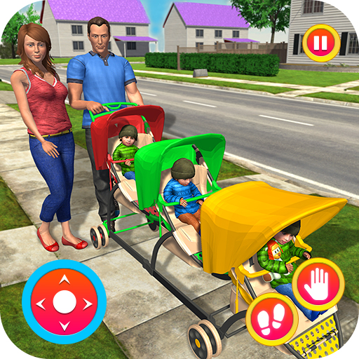 - Virtual New Mother Baby Triplets Care Game