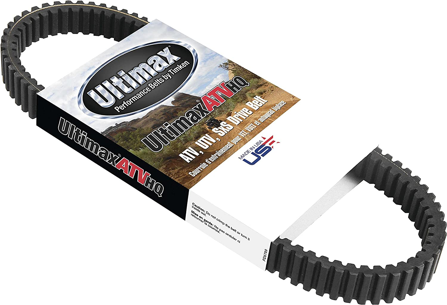 04-15 Ultimax UHQ446 Belt HQ for Can-Am Applications