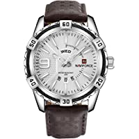Naviforce 9117L S-W Analog For Men, Casual Watch
