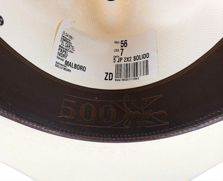 a5f675d9fa8df El General Men s Western Hat Sombrero 500X El Cartel Color Ivory at Amazon  Men s Clothing store