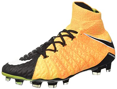 2c160c91bbf Nike Men s Hypervenom Phantom 3 DF FG (Laser Orange Black Volt White