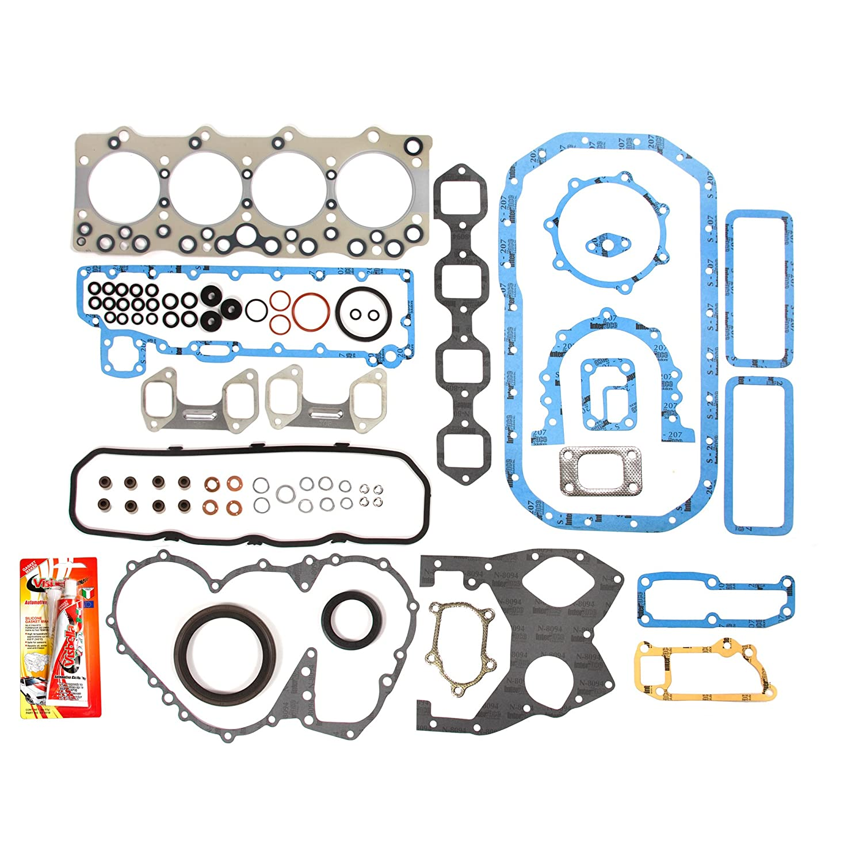 Fits 92-94 Isuzu NPR 3.9 Turbo Diesel 350 Engine 4BD2-T Full Gasket Set