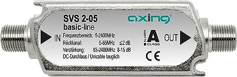 Axing Svs 2 05 Satelliten Leitungsverstärker Inline Elektronik