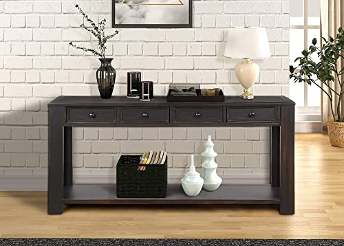 64 inch Long Hallway Table,JULYFOX Console Table