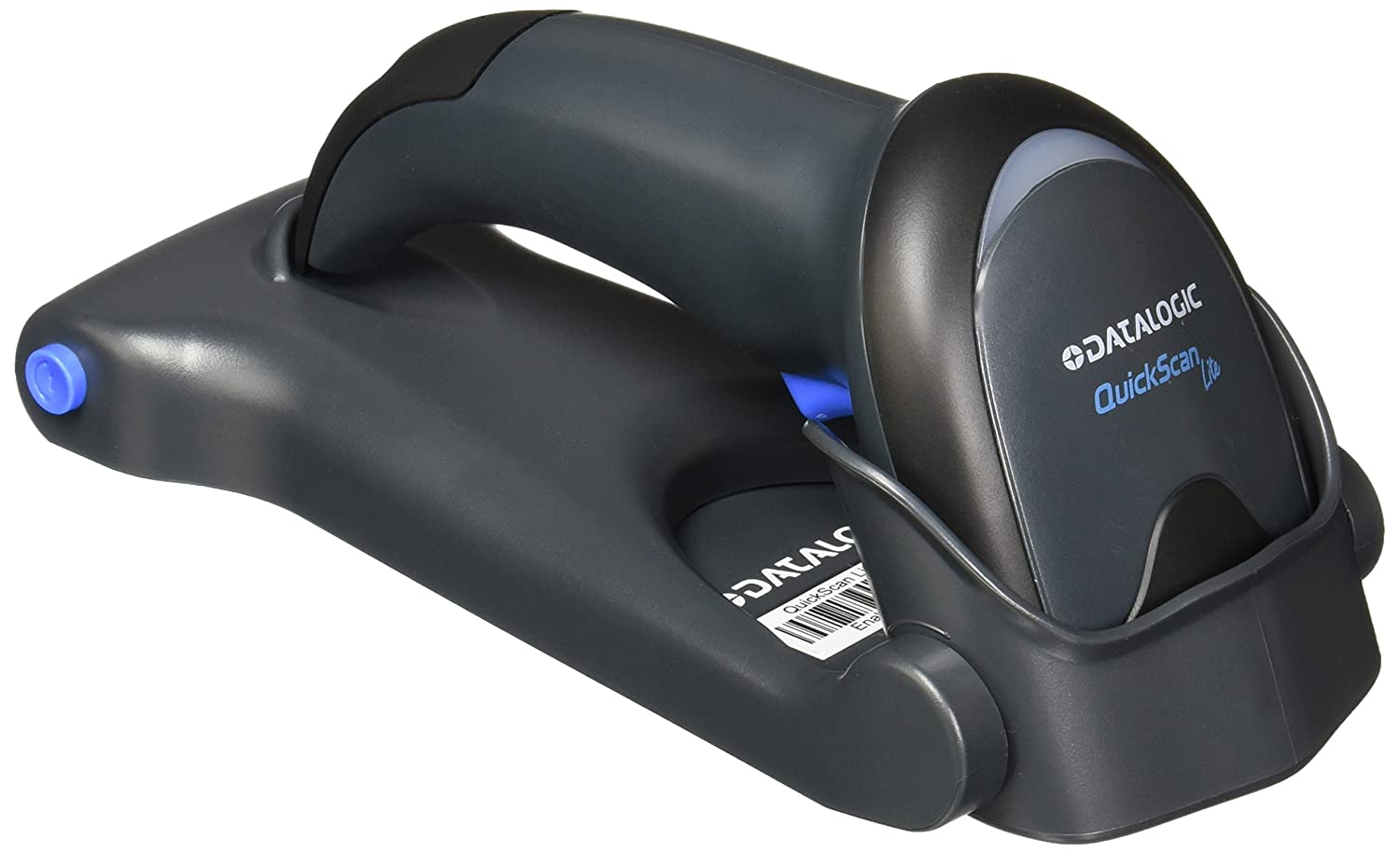 Datalogic QuickScan Lite QW2100; Laser; EAN 5; EAN-13; EAN-8; GS1-128 (UCC/EAN-128); 400 reads/s; Wired; USB; DC DL-HHS-GENERAL QUICK SCAN LITE QW2120