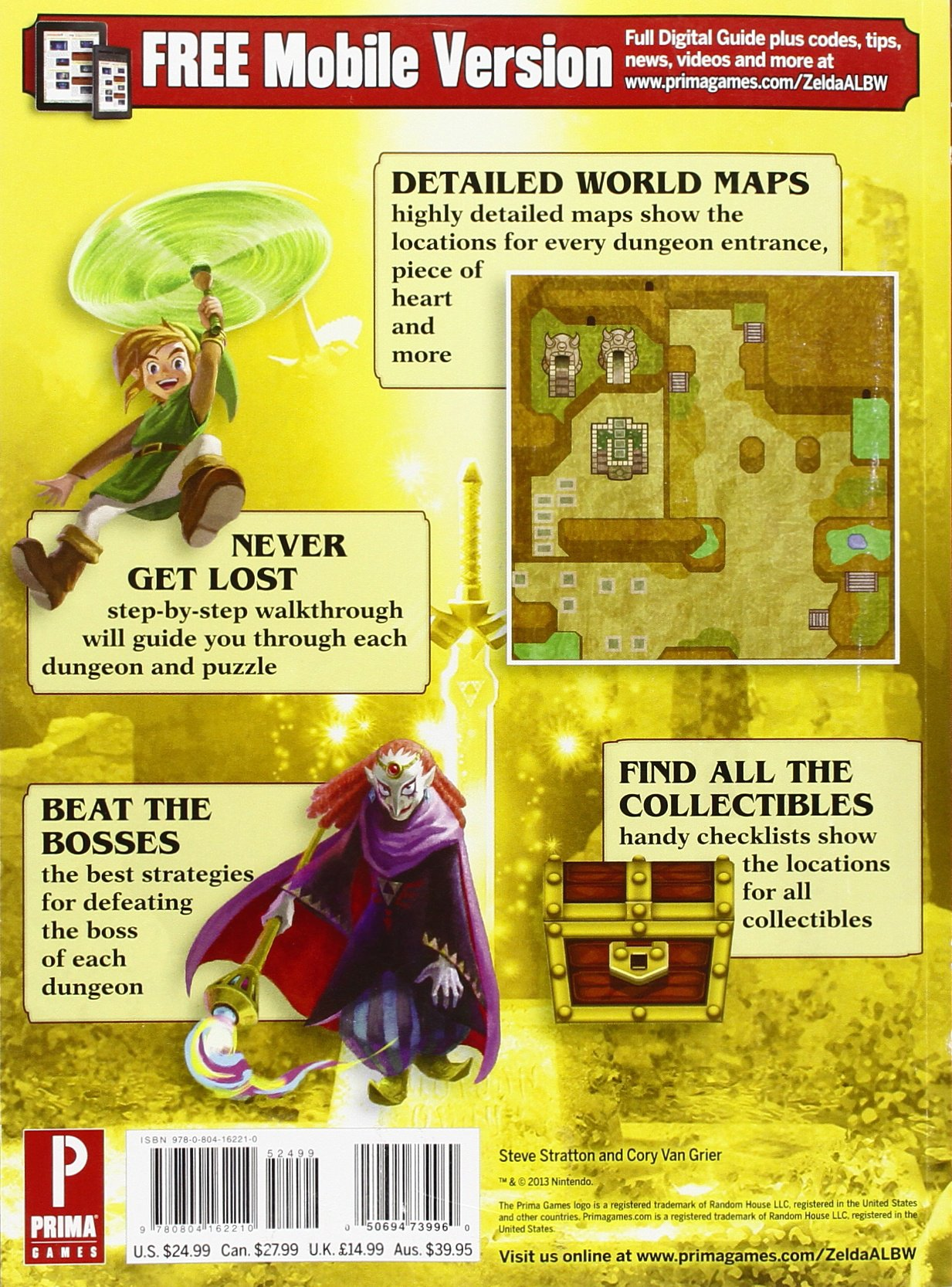 The Legend of Zelda: A Link Between Worlds: Prima Official ...