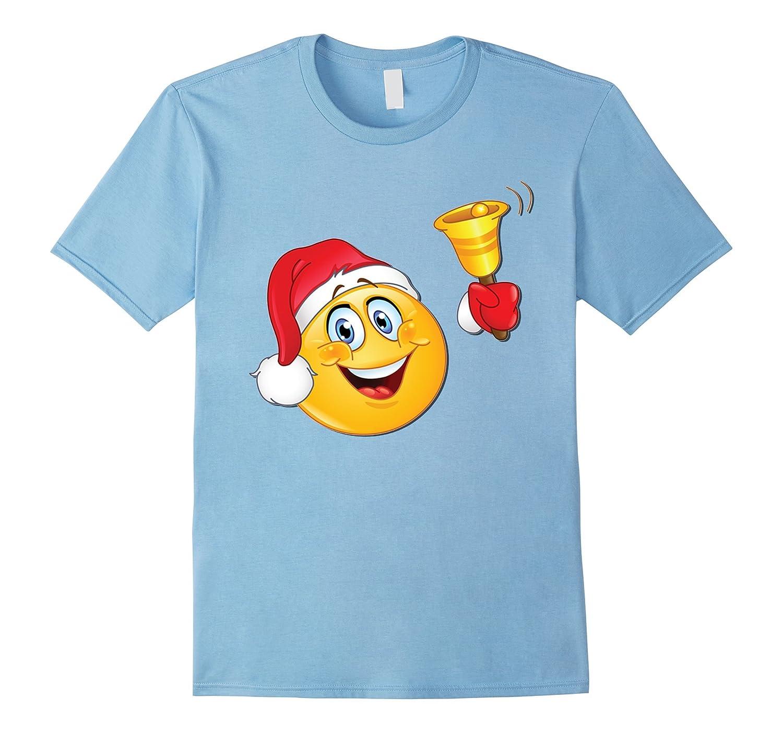 Christmas Ringing a Bell Emoji Gift tshirt-azvn