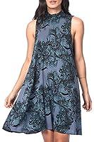 Vero Moda Vêtements Femme Robe évasée à motifs Vmnewmaker - Blue