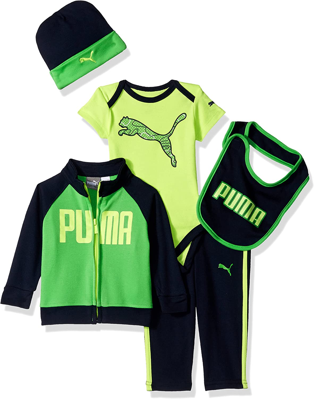 PUMA Boys Baby Fleece Coverall 6-9M