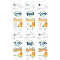 6-Pack Toms of Maine Natural Deodorant Stick 2.25 Oz Deals