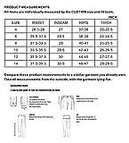 Clothin Women's Fleece-Lined Soft-Shell Cargo Pants