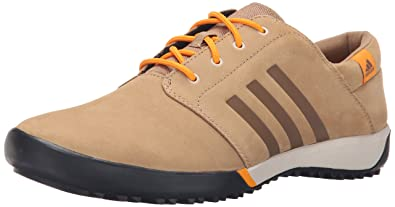 adidas outdoor Women's Daroga Sleek Hiking Shoe, Cardboard/EQT  Orange/Black, 7.5