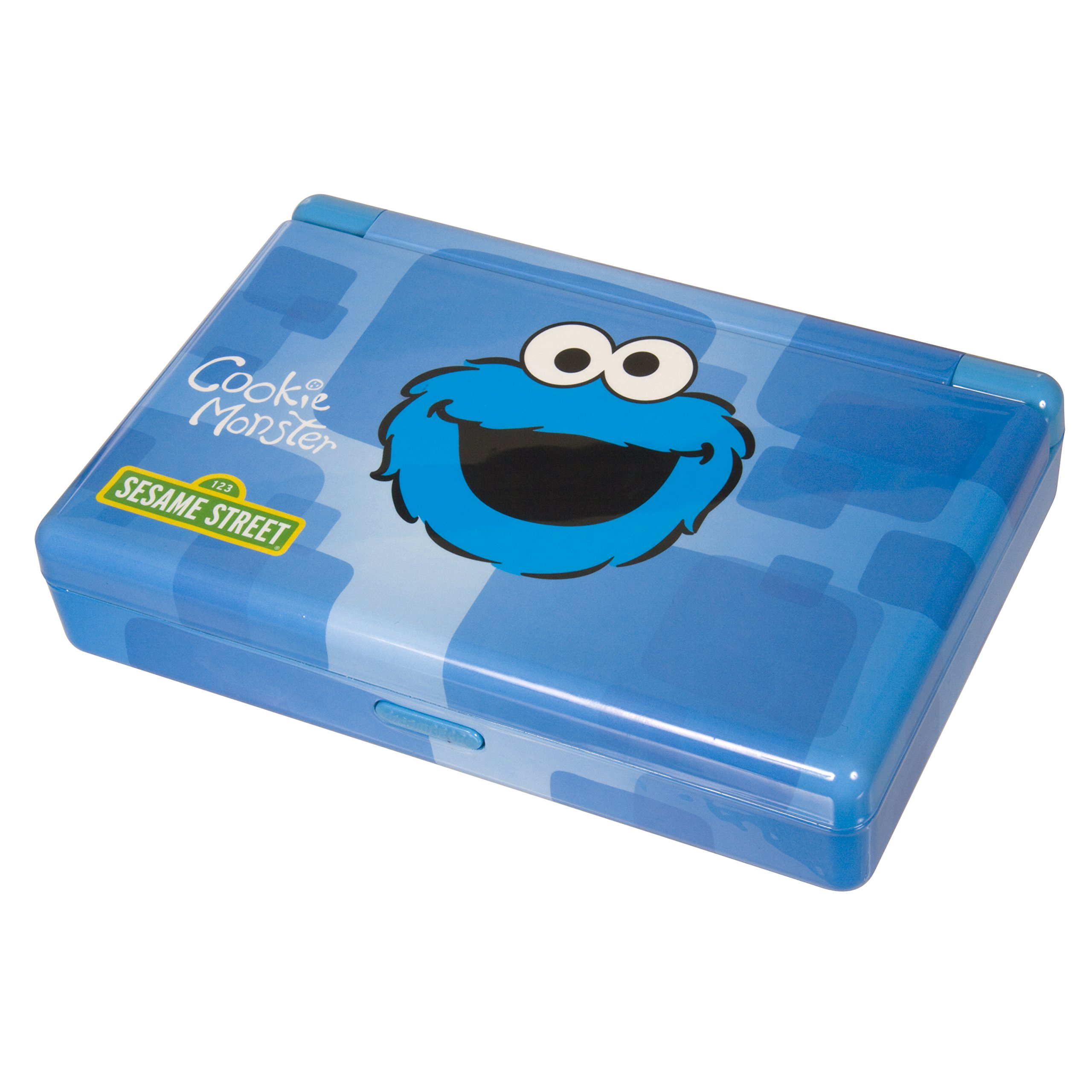 dreamGEAR Sesame Street Gamer's Vault for Nintendo DS Lite, DSi, DSi XL or 3DS (Cookie Monster)