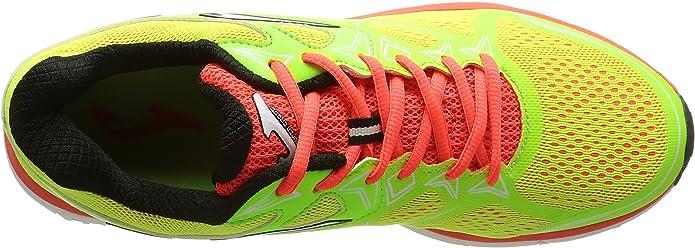 Joma Super CROS - Zapatillas de Running para Hombre, Color Amarillo, Talla 44: Amazon.es: Zapatos y complementos