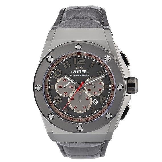 TW Steel CE4001 - Reloj de Pulsera Hombre, Color Gris