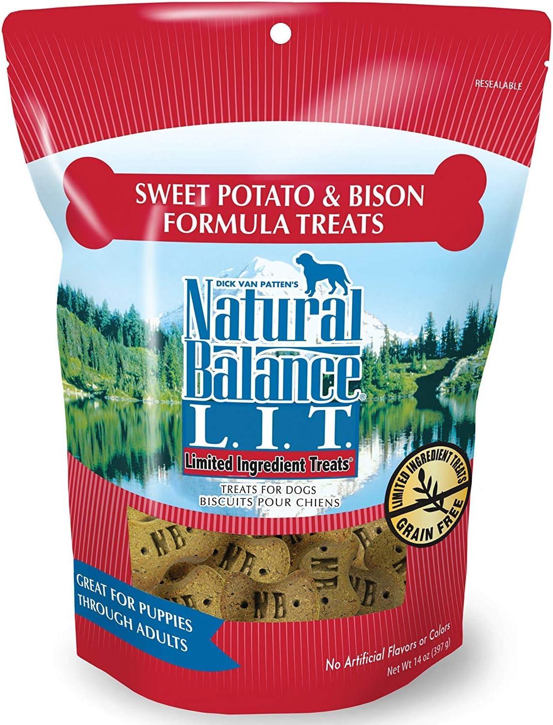 Natural Balance Limited Ingredient Dog Treats, 2 pack