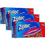 Ziploc Gallon Storage Bags, 52 Count, Pack of 3