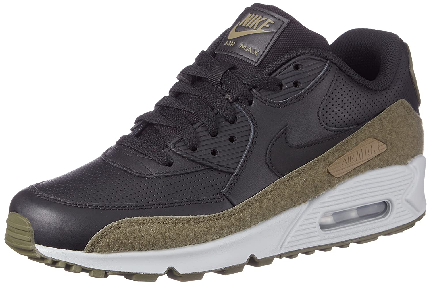 NIKE Air Max 90 Hal Black/Black-Medium Olive B079GNMGMP 8 D(M) US