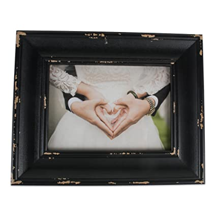 adc4481739cb Image Unavailable. Image not available for. Color  DII Z02237 Rustic  Farmhouse Distressed Wooden Picture Frame ...
